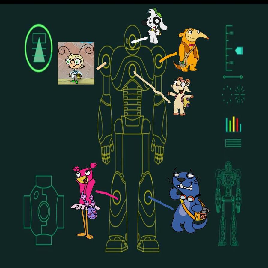 Team doki's Rah Rah rah robot  by Starwolf08