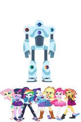 mane 7 rah rah robot