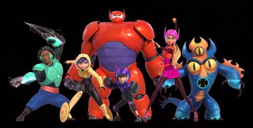 big hero 6 rah rah robot