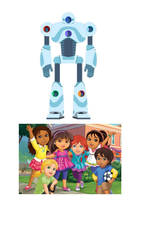 dora and friends rah rah robot