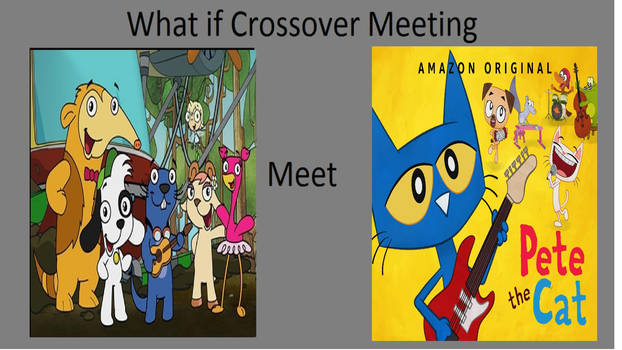 What if team Doki meet pete the cat and his friend