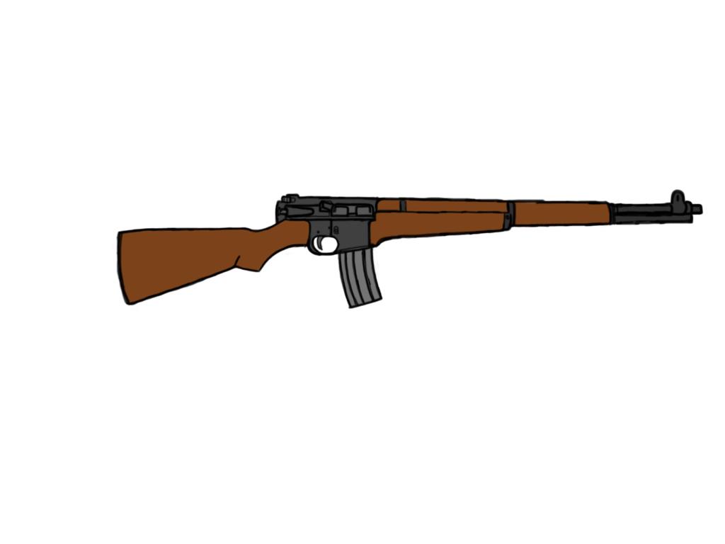 M16/M1 Garand  by Kabutomania