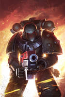 Warhammer 40k: Will of Iron #2 Cover by N-Y-O