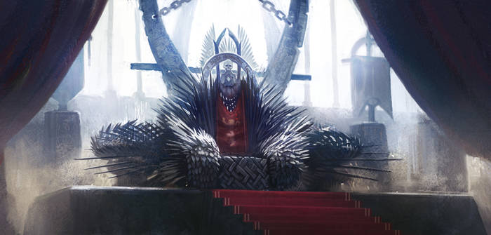Throne Room with Iron Throne by N-Y-O