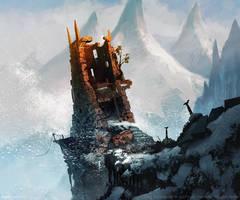 Dwarven Watchtower by Greg Bobrowski