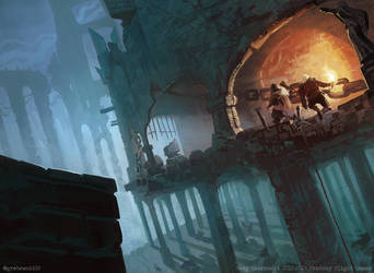 Searching the Ruins by Greg Bobrowski by N-Y-O