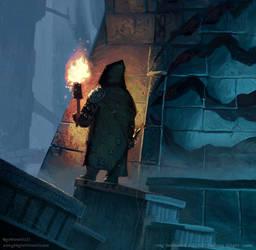 Shadow of Fear by Greg Bobrowski by N-Y-O