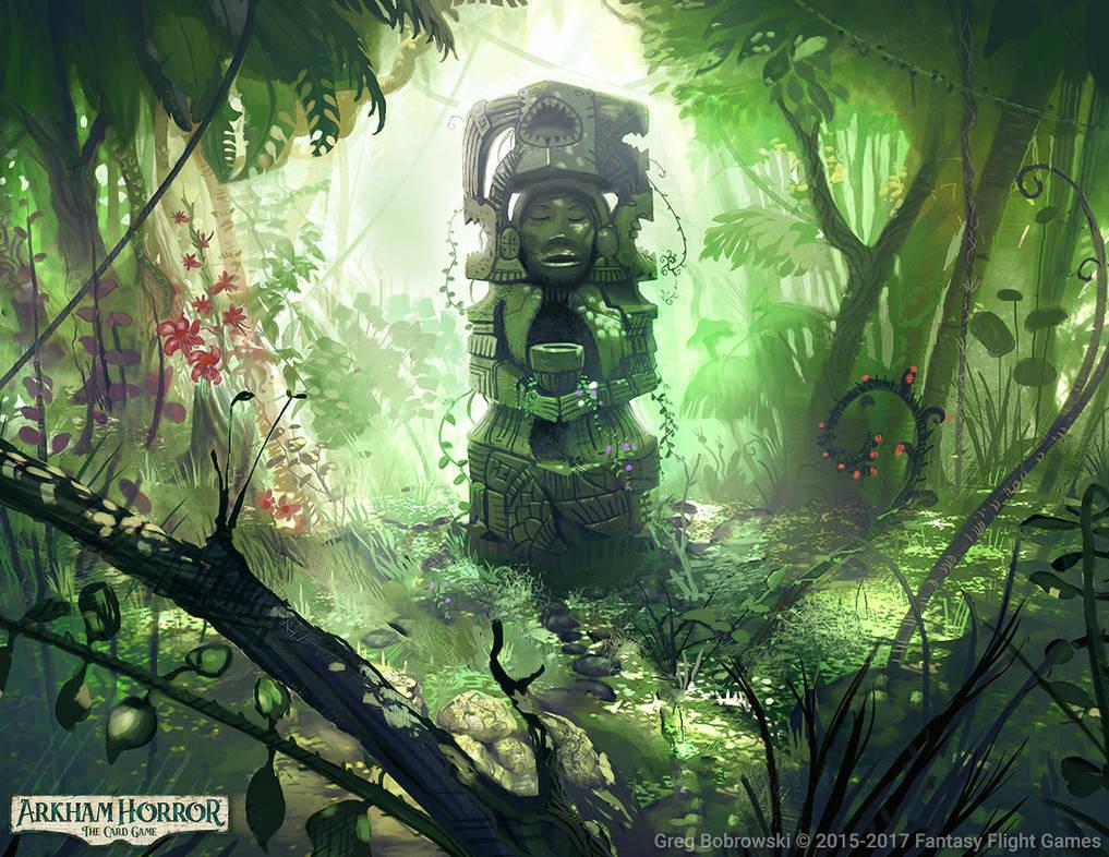 Sacred Woods by Greg Bobrowski by N-Y-O