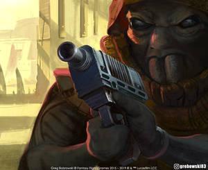 DX-2 Disruptor Blaster Pistol Star Wars: Destiny