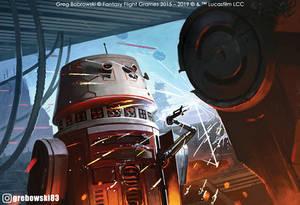 Rebel Specialists: R5 Droid Star Wars: Legion