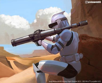 RPS-6 Rocket Trooper Star Wars: Legion