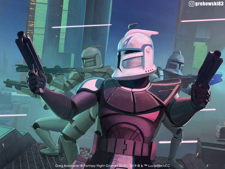 Rex Leads Star Wars: Legion