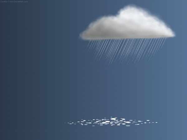 Rain Cloud Wallpaper