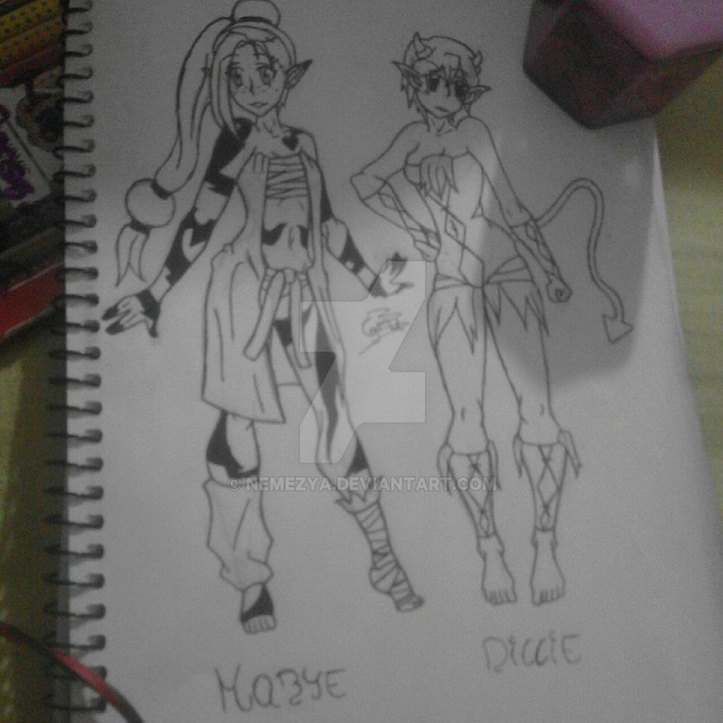 Wakfu - Mabye and Dillie by Nemezya