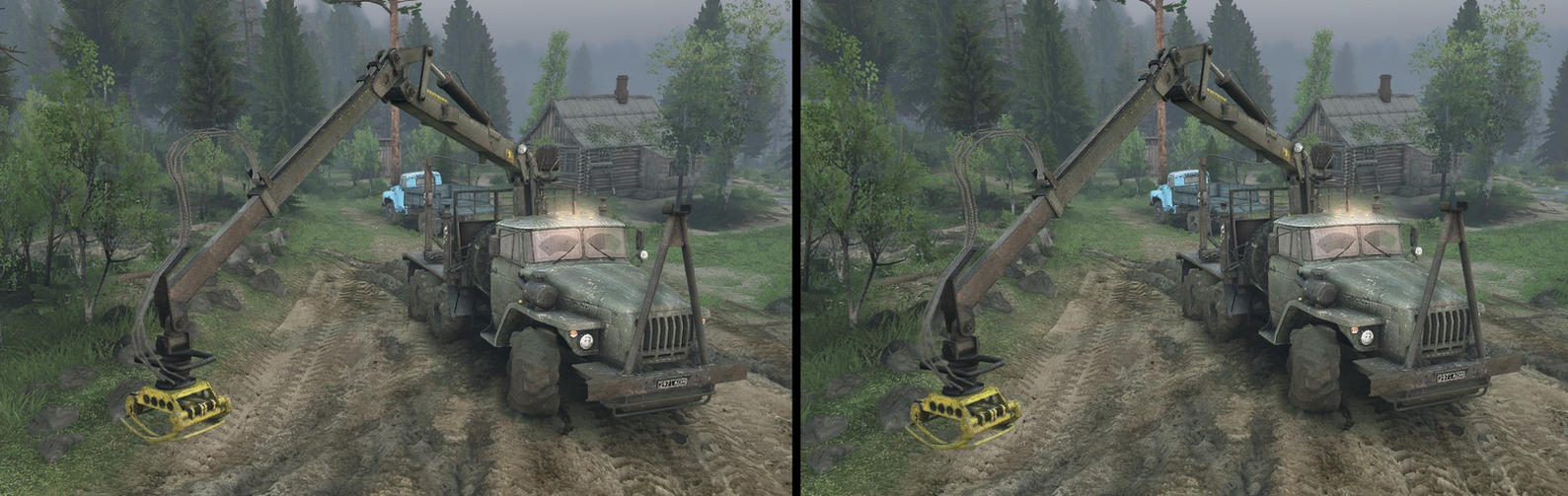 Spintires stereo image for crossview by Spozzn