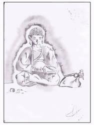 Bouddha by FacteurK