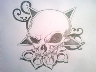 five finger death punch by TattooedAngrl