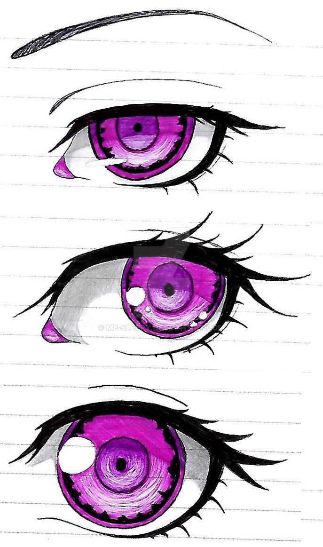 Purple Eyes by me-sleepy