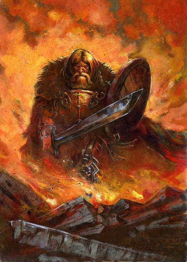 Barbarian by fabdruet