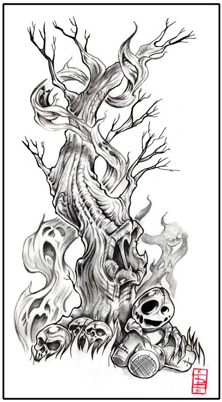 Tatouage Arbre Mort. With Tatouage Arbre Mort. Free Affordable Tatouage Arbre With Tatouage ...