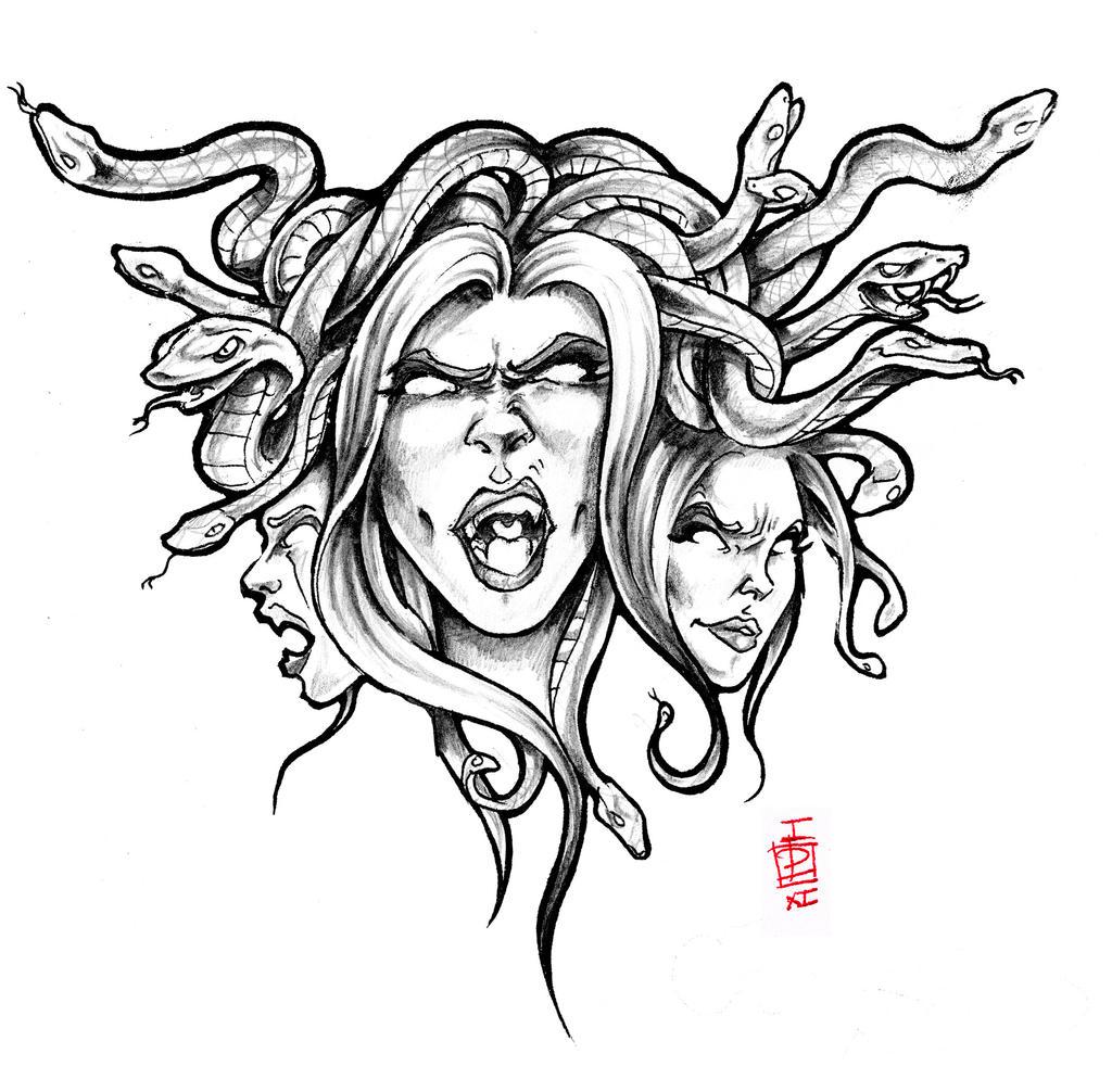 Medusa By Daxotattoos On DeviantArt