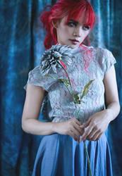 Blue Flower Power by LeeLooLa