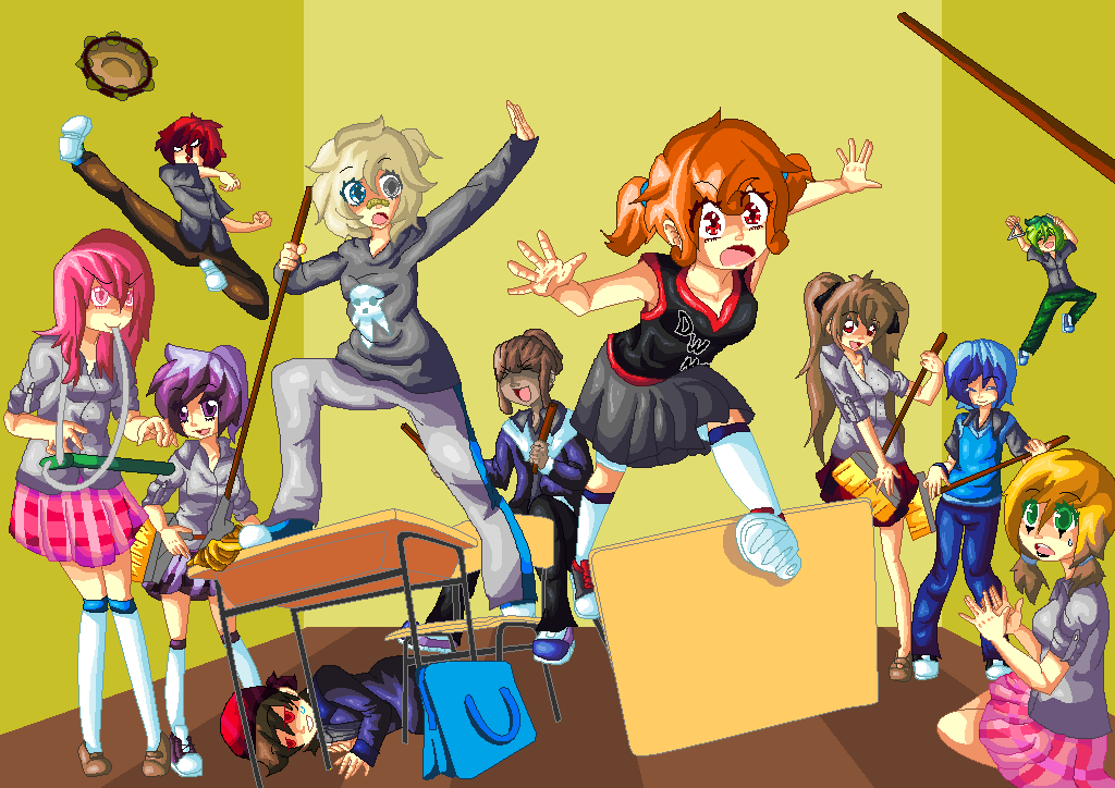 highschool days A day at high school : oh, like going to school wasn't hard enough now you're going to make me play through the day fortunately, there's a payoff that's better than homework free online girl games from addictinggames.