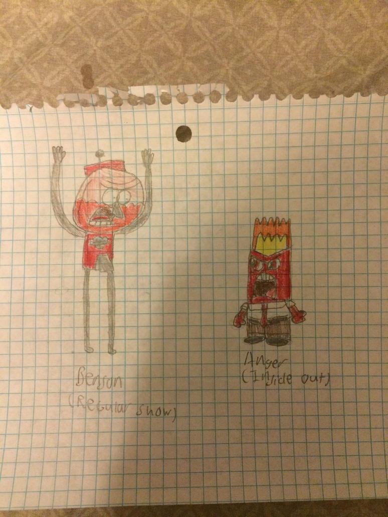 Benson vs Anger by Iankyle1189