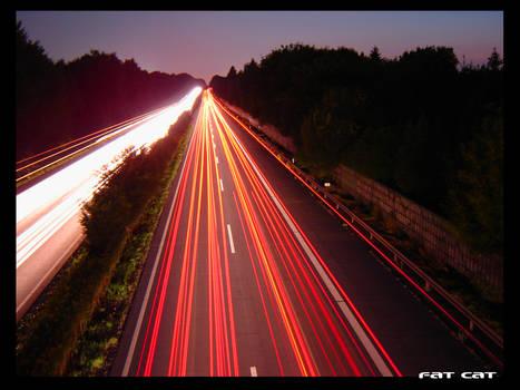 A45 by Night by BigFatCat