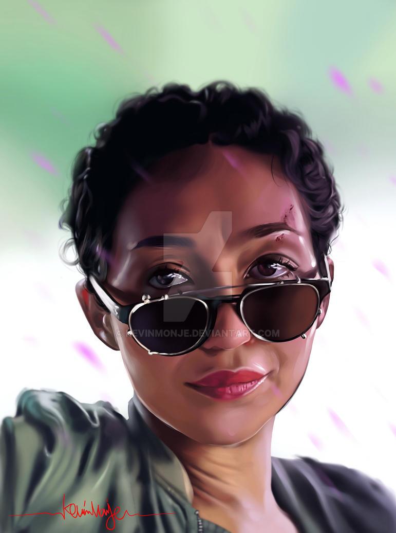 Ruth Negga / Tulip O'Hare by KevinMonje