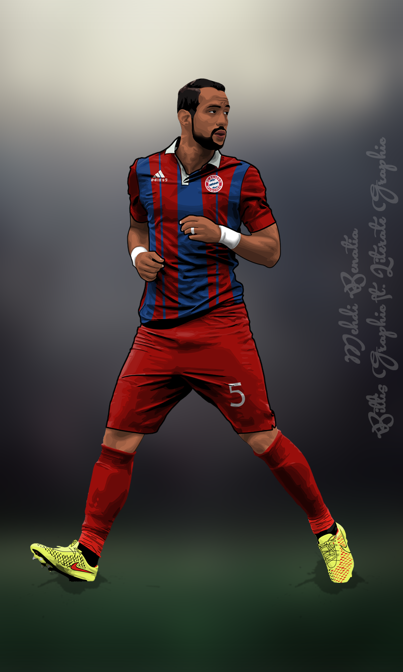 Mehdi Benatia Fc Bayern Mobil by kadirapak on DeviantArt