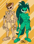 Robotized Furries by Yardley Colors by MrAMP