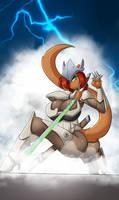 Genji Thunderous Strike by Mastergodai and UStudio by MrAMP