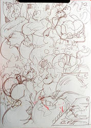 Messy Kitchen Page 2 Sketch