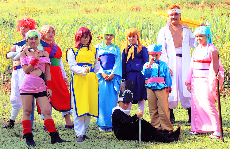 Yu Yu Hakusho Team Take 2 by paganprincess-aeris