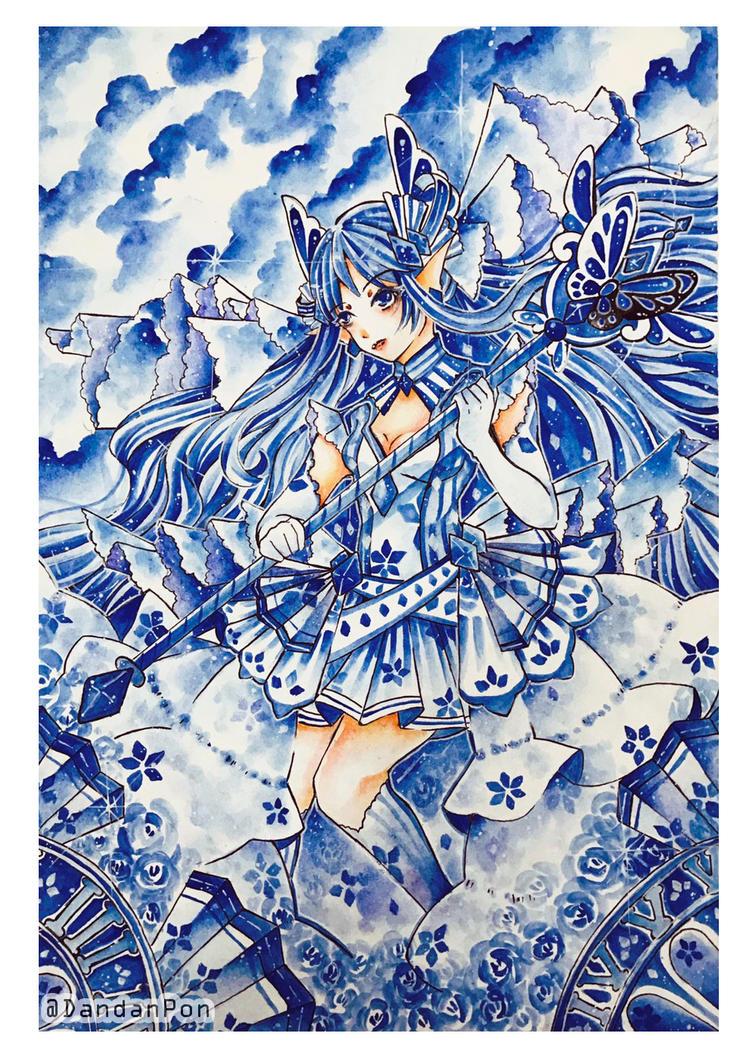 Blue Butterfly by DandanPon