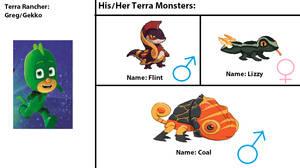 Greg (Gekko)'s Terra Monsters