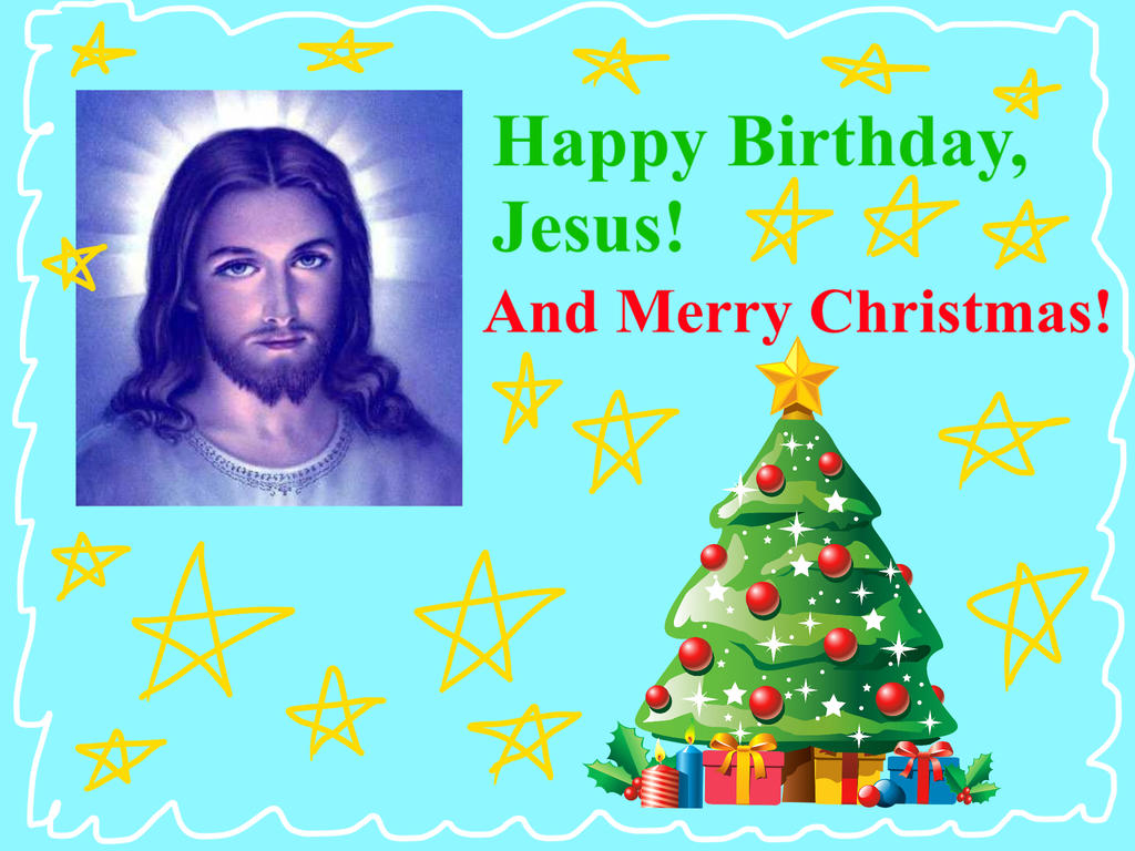 Happy birthday jesus by cmanuel1 on deviantart happy birthday jesus by cmanuel1 kristyandbryce Images