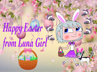 Happy Easter from Luna Girl by Cmanuel1