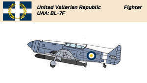 United Vallerian Republic: BL-7F Fighter by Chenzyjerry
