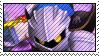 meta knight stamp by MadameKotty