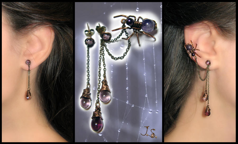 Ear cuff Spider by JSjewelry