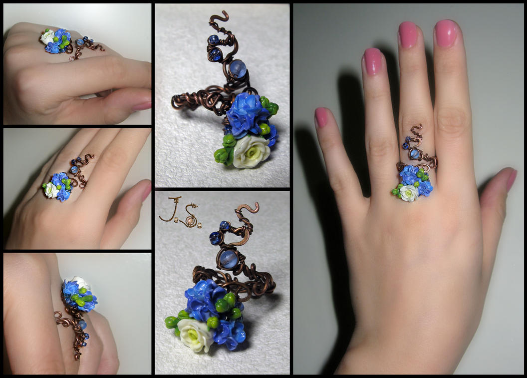 Morning freshness II ring by JSjewelry