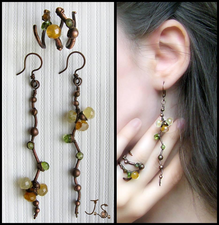 Floral set by JSjewelry
