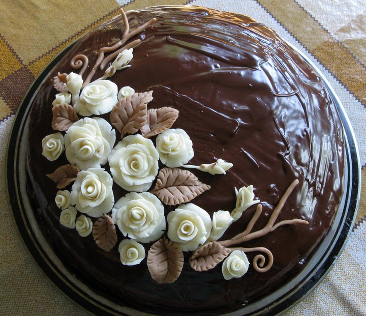 Chocolate cake by JSjewelry