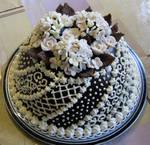 Grand dome cake