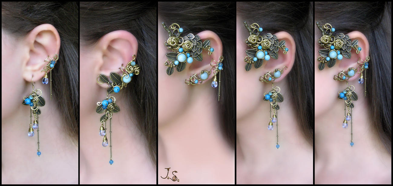 Combinations of Bukhara set by JSjewelry