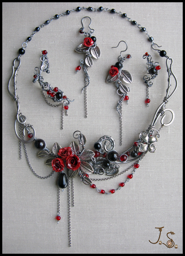 Dark passion set by JSjewelry