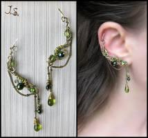 Ear pins by JuliaKotreJewelry