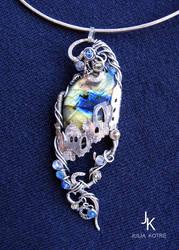 Mirage pendant by JuliaKotreJewelry